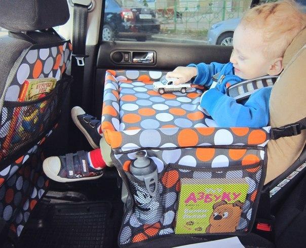 Сшить органайзер на спинку сиденья в авто своими руками 36