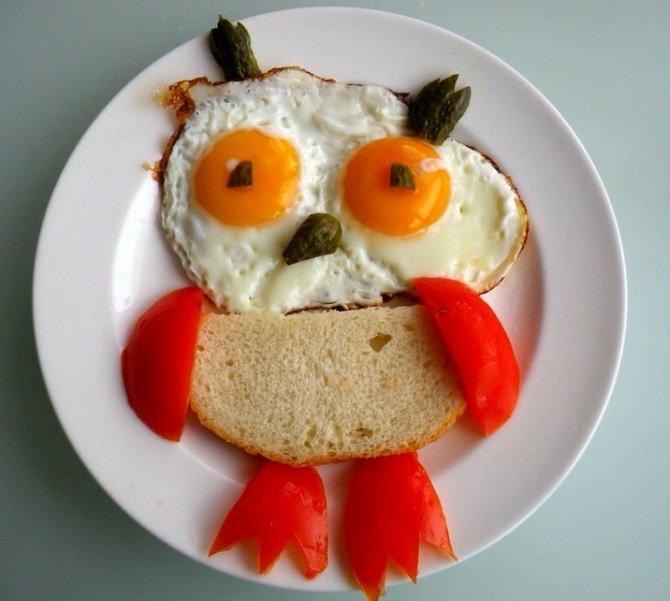 Которые, картинка с завтраком прикольная