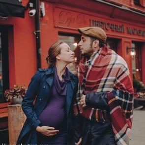 6 стильных идей фотосессии для беременных