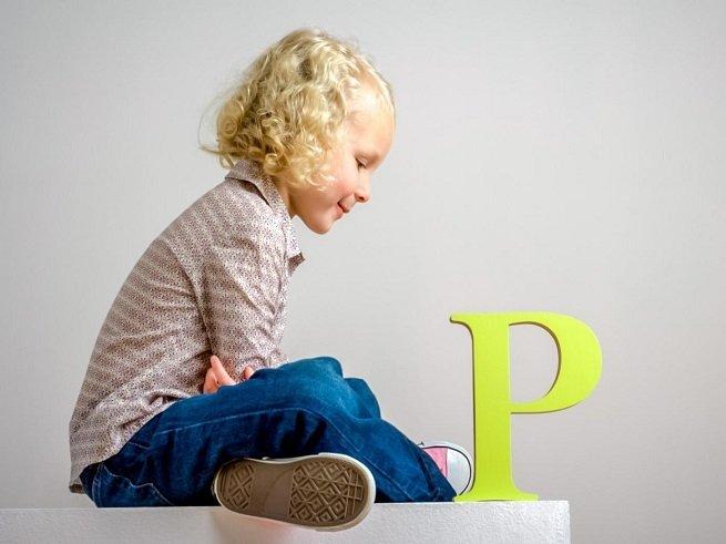 Как научить ребёнка говорить букву