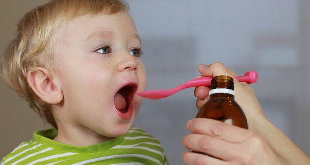 Лечение кашля у детей 2 лет