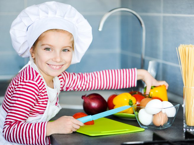 «Арт-кулинар»: мастер-класс для юных шефов
