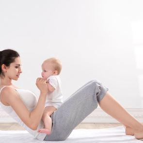 Как маме привести себя в форму, тратя на это полчаса в день