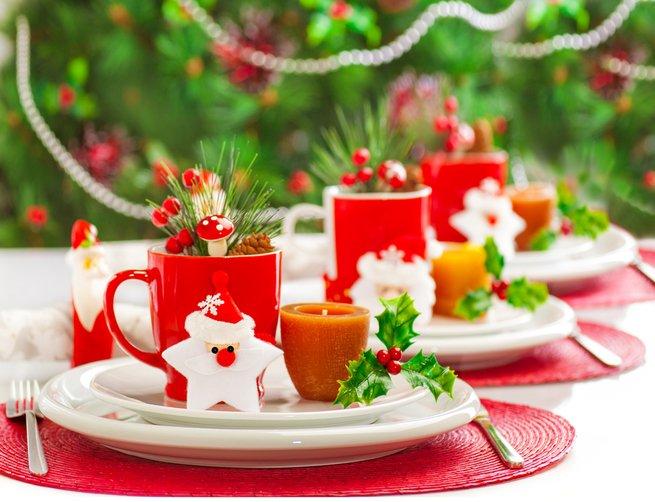 7 идей для украшения новогоднего стола