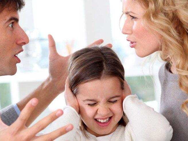 Конфликты в семье влияют на развитие детей