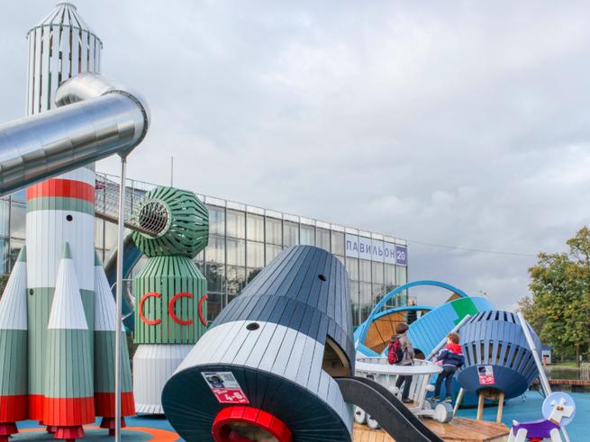 5 лучших открытых детских площадок и игротек