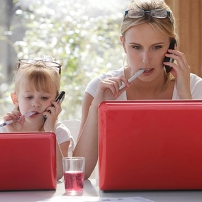Полезные хитрости для работающей мамы