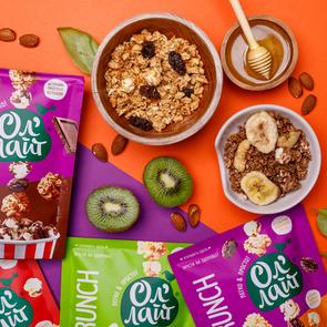 PopCrunch – новинка для полезного перекуса от бренда «Ол'Лайт»