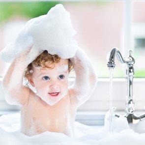 Игры с водой в ванной