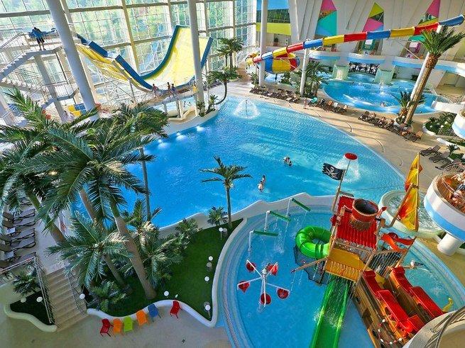 Гостей аквапарка «Мореон» ждут лучшие водные  аттракционы