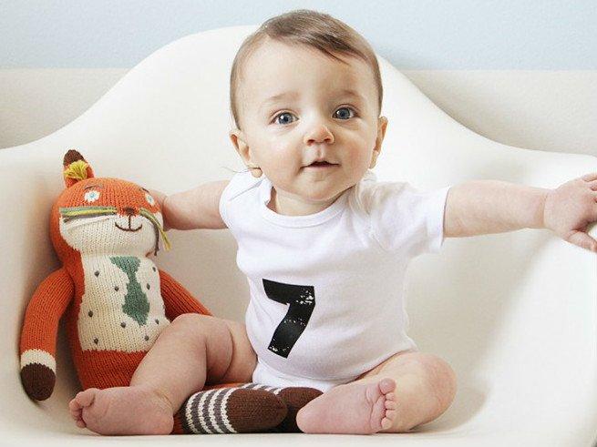 Развитие ребенка в 7 месяце жизни