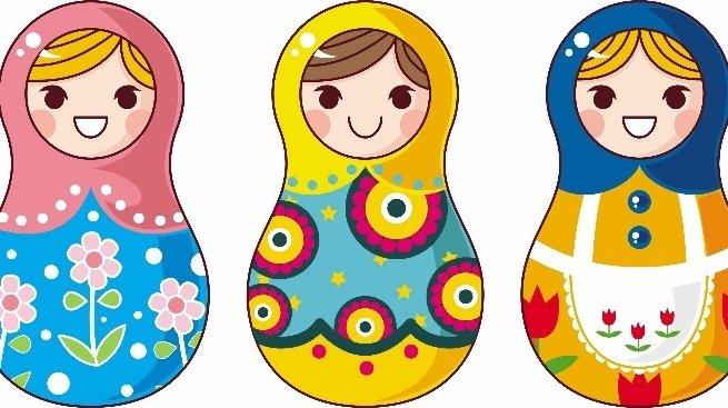 Мастер-класс для детей: рисуем матрешку