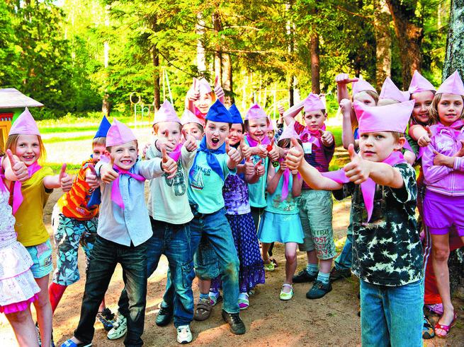 Лучшие детские лагеря России