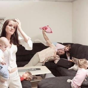 7 признаков того, что вы - замотанная мать
