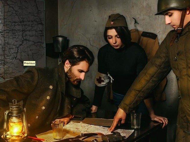 «Битва за Москву»: квест ко Дню Победы