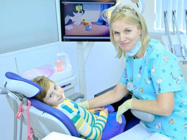 Стоматит у новорожденных детей