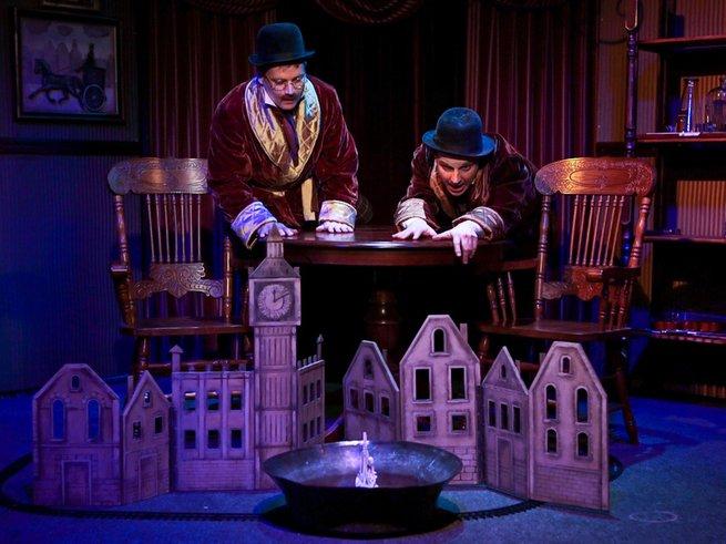 Шерлок Холмс ждёт любителей детективов