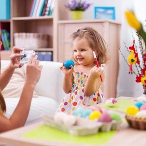 Оригинальные идеи для росписи пасхальных яиц с ребёнком