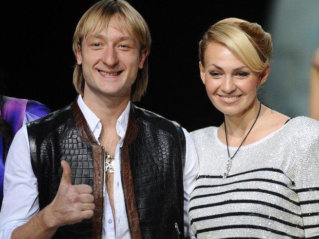 Плющенко намекает на беременность Рудковской