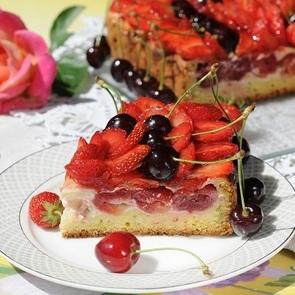 Рецепты быстрых пирогов с фруктами