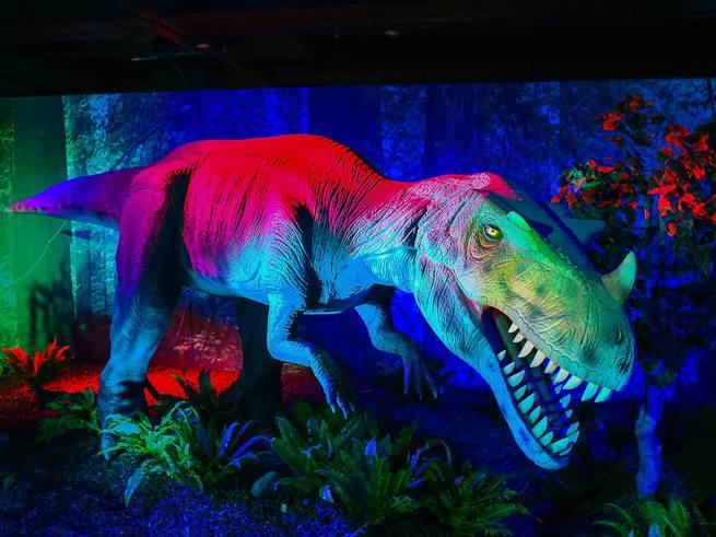 На Лубянке покажут шоу динозавров
