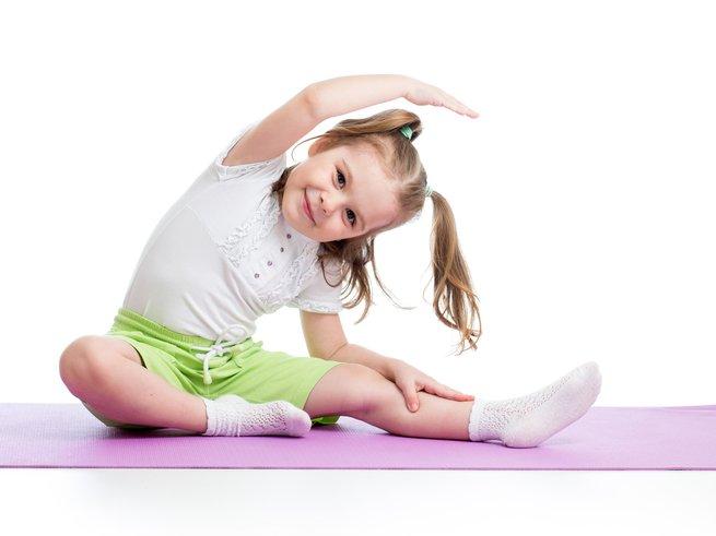 Гимнастика для детей 3 лет