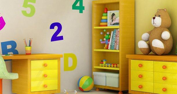 Как оформить и обустроить детскую комнату