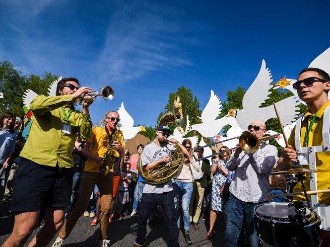 В Москве пройдёт парад шагающих оркестров