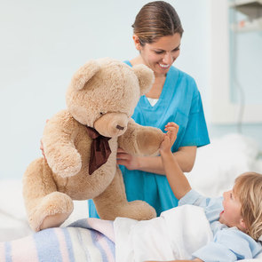 Как выжить с ребёнком в больнице