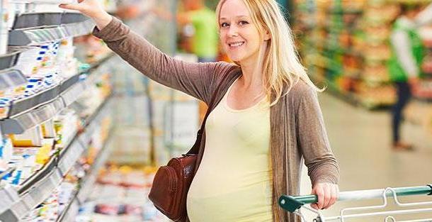 Какие продукты покупать будущей маме?