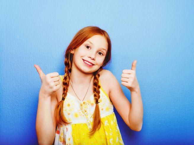 10 удивительных фактов о рыжих детях