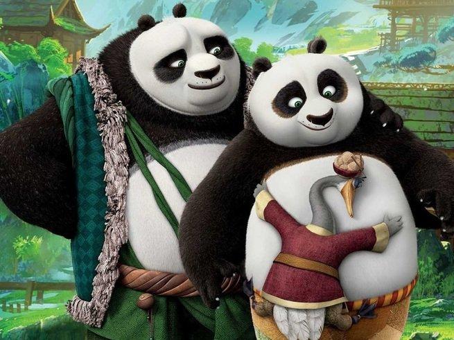 В российский прокат выходит мультфильм «Кунг-фу Панда 3»