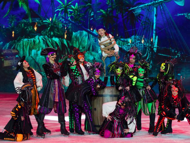 Ледовое шоу «Синдбад и принцесса Анна» стартует в «Лужниках»