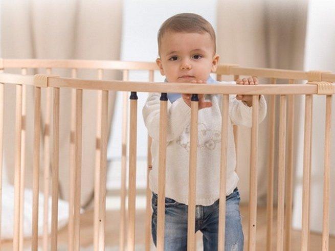 Как выбрать манеж для ребёнка