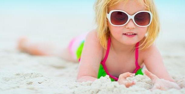 Правила загара для детей от 0 до 3 лет