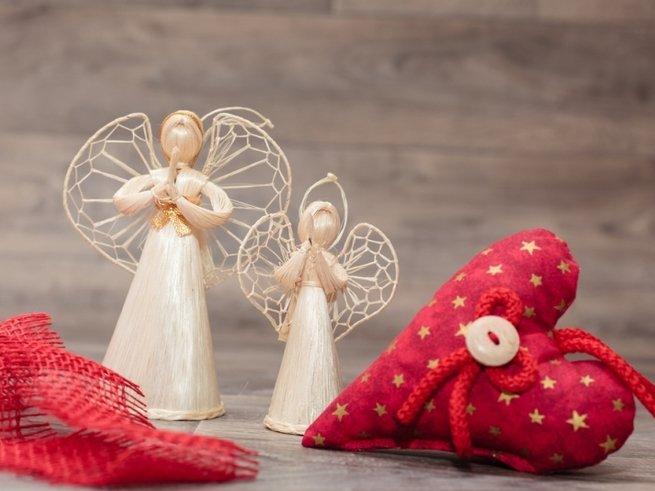 Мастер-класс: делаем ангелочков к Рождеству