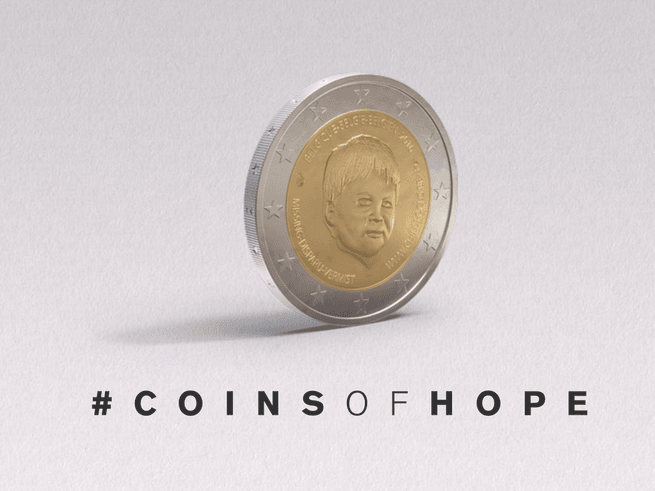 «Монеты надежды»  помогут искать пропавших детей