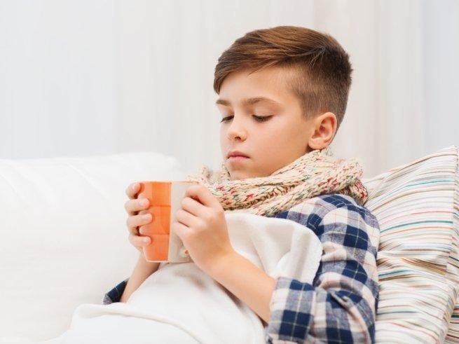 Полезные напитки для заболевшего ребёнка