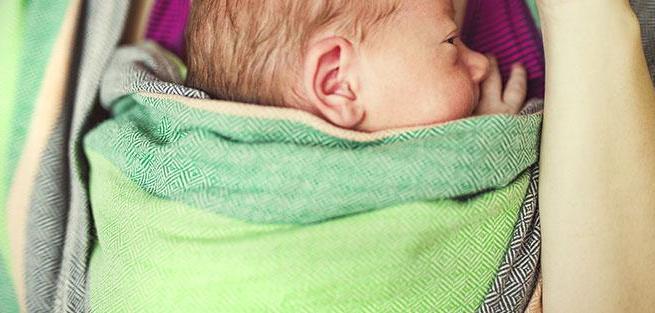 Переноска для детей: слинг