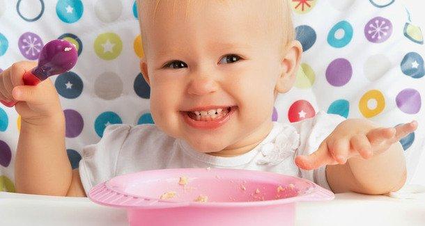 Питание ребёнка в 10 месяцев