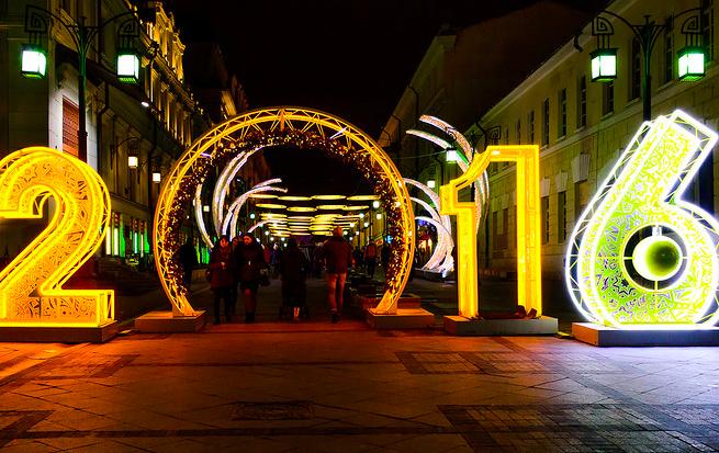 Самые новогодние улицы Москвы: куда идти для селфи
