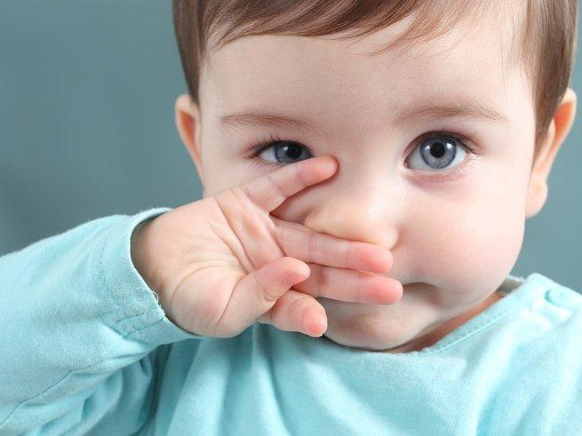 Насморк у ребенка 2 лет