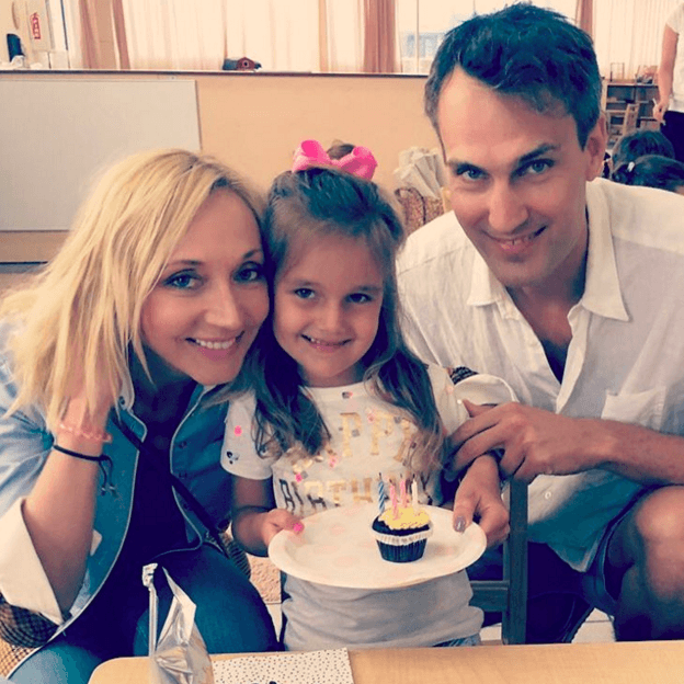 Кристина Орбакайте отпраздновала 4-летие  дочери