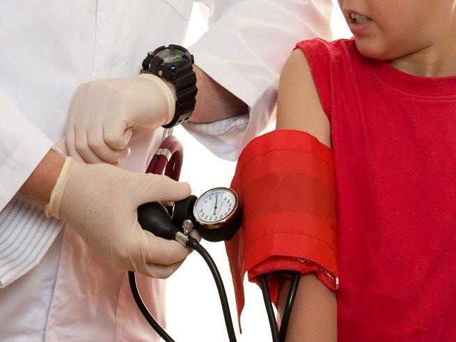 Артериальное давление у ребёнка 9 лет