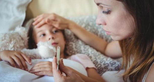 Эксперты просят родителей не переживать из-за детских ОРВИ