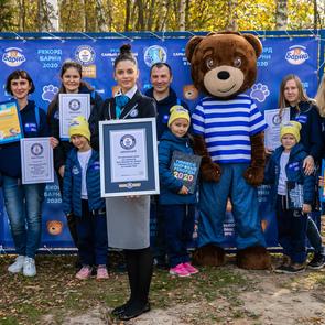 Путешествие за рекордами: Медвежонок Барни и его друзья в Guinness World Records