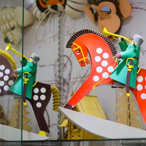 Выставка редких игрушек  Владимира Якобсона