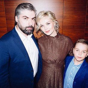 Полина Гагарина вышла в свет с мужем и сыном