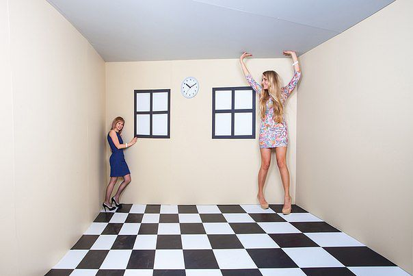 Комната Эймса: для тех, кто любит удивлять и удивляться