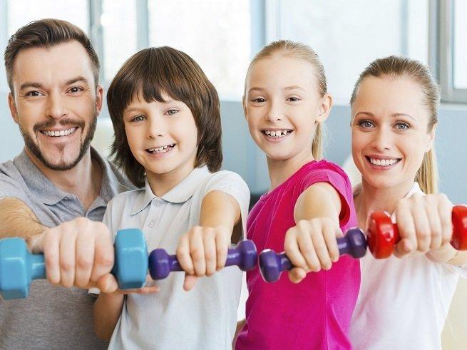Занятия гимнастикой для детей от 3 лет